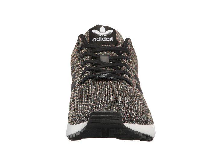 adidas Originals ZX Flux - Multicolor Knit Men's Shoes Core Black/Core Black/Core Black
