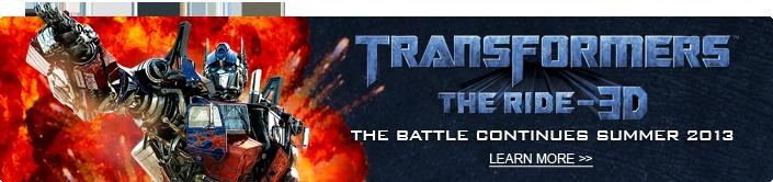 Transformer The Ride - 3d - Summer 2013 (Universal Studios Orlando, FL)