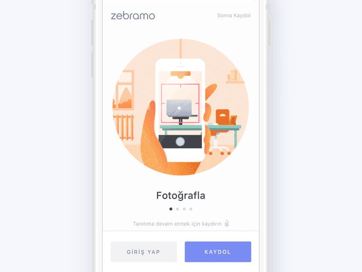 Onboarding animated
