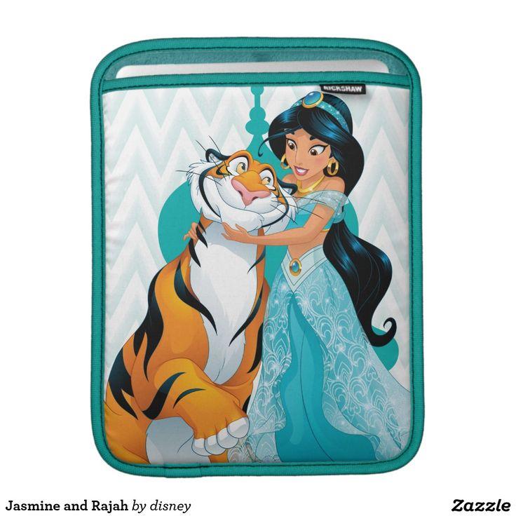 Jasmine and Rajah iPad Sleeve #funda #sleeve