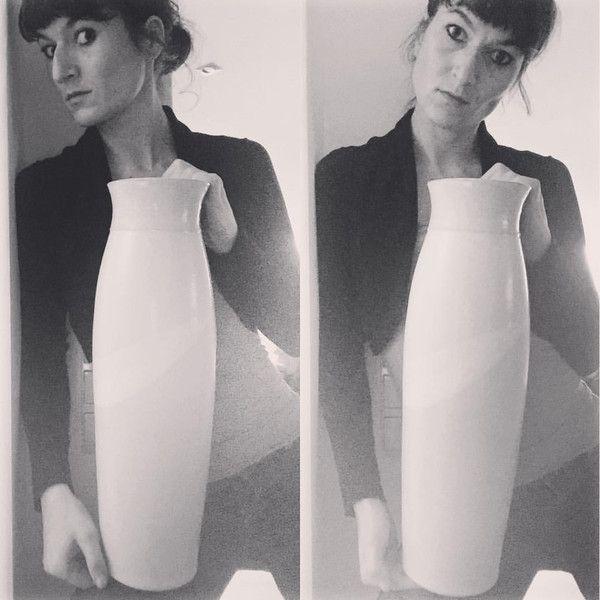 Vasen - Vase #PINK - ein Designerstück von KERAMIKSTUDIO_ANNE_WERNER bei DaWanda
