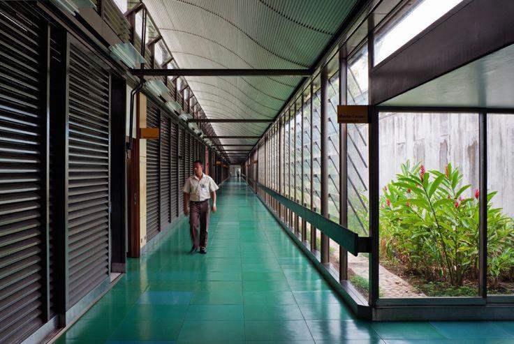 Hospital Sarah Kubitschek Salvador / João Filgueiras Lima (Lelé) © Nelson Kon