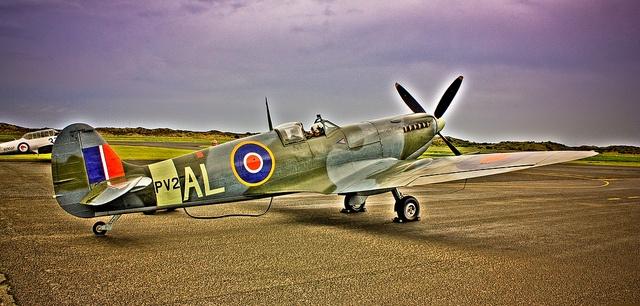 Spitfire PV270 (HDR Image) by Mr BBC NZ, via Flickr