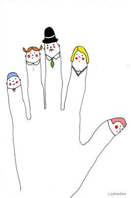 Sweet Family Illustration