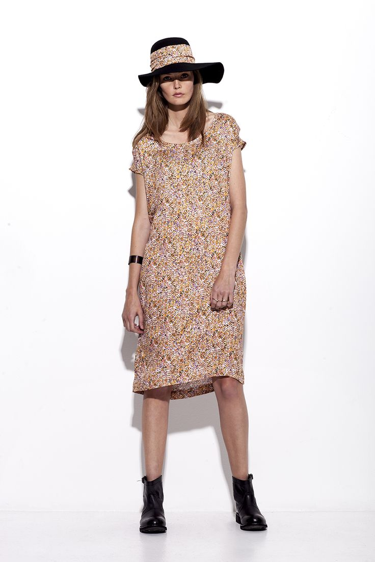 Bogelund-Jensen´s SS15 collection: The fire Italian dress without the belt