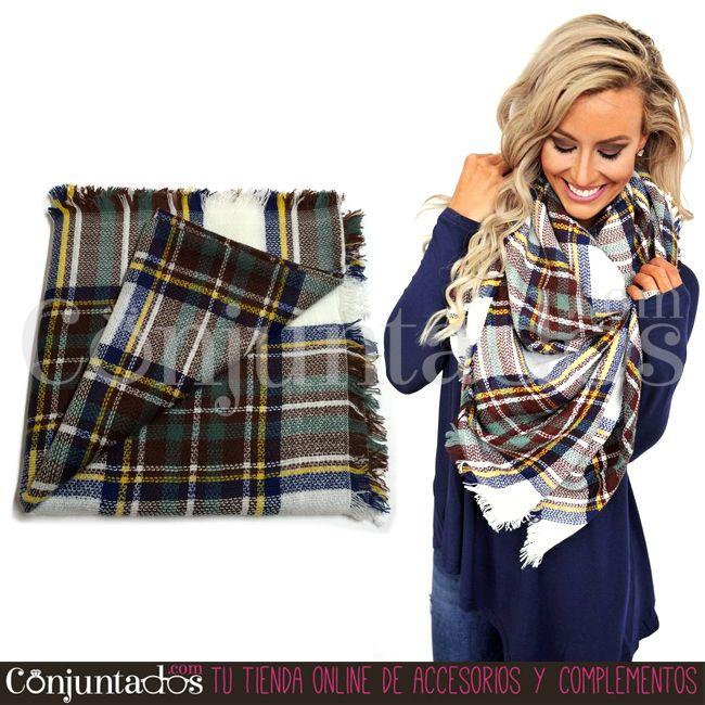 #WinterIsComing -> Gran surtido de bufandas grandes ideales ★ 12,95 € en https://www.conjuntados.com/es/fulares/bufandas.html ★ #novedades #foulard #fulares #bufanda #bufandamanta #conjuntados #conjuntada #joyitas #jewelry #bisutería #bijoux #accesorios #complementos #moda #fashion #fashionadicct #picoftheday #outfit #estilo #style #GustosParaTodas #ParaTodosLosGustos #fríopolar #quépelete