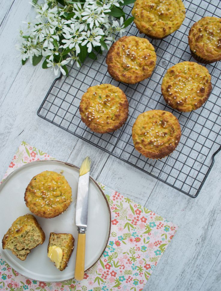 Another snap of my Morning Muffins - delicious! This is the gluten and grain-free version.