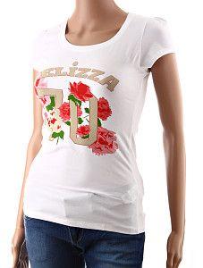 Dámske tričko s kvetmi Yelizza biele  Jednoduché biele dámske tričko s krátkym rukávom a kvetinovým motívom ruží na hrudi. Tričko je ušité z kvalitnej prírodnej viskózy a veľmi príjemne sa nosí. Látka je vďaka prímesi elastanu pružná (elastická).  http://www.yolo.sk/damske-tricka-bluzky-kratky-rukav/biele-damske-tricko-s-kratkym-rukavom-yelizza
