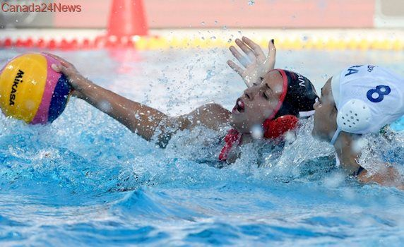 Canada defeats Brazil in women's water polo, finishes 2nd in group