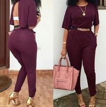 Z51075B Wholesale China supplier sexy backless women bodycon jumpsuit Best Buy follow this link http://shopingayo.space