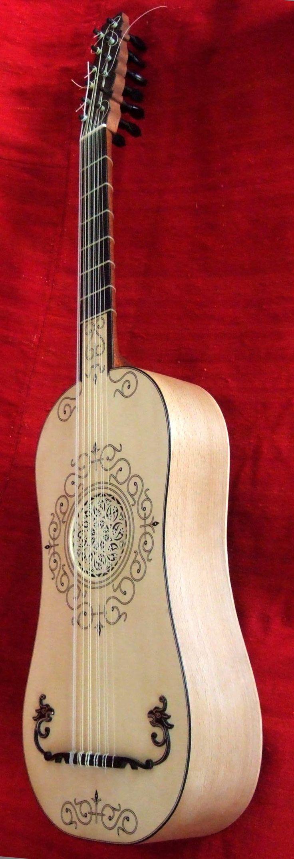 My first replica of the older American guitar ca.1600. Vihuela of Santa Mariana de Jesus, Ecuador