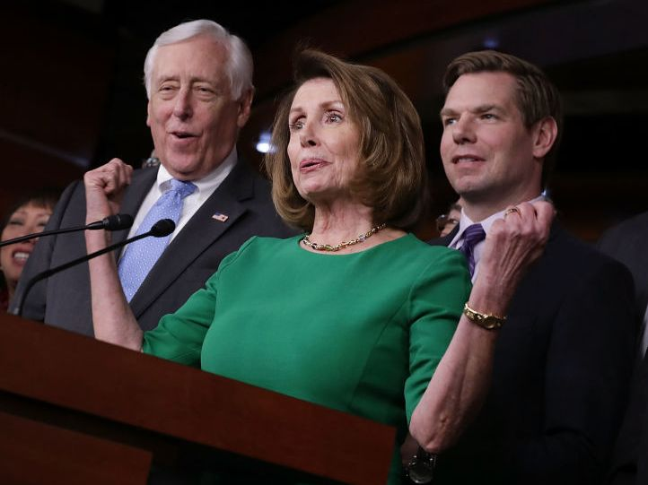 """Democrats' reported 2018 slogan bears a strong resemblance to Papa John's - Democrats are reportedly rolling out a new slogan on Monday that is aimed at drawing attention to the party's economic message.  Late on Wednesday, The Washington Post reported that congressional Democrats are set to release a de facto 2018 campaign platform focused on highlighting their positions on economic issues, under the slogan""""Better Skills, Better Jobs, Better Wages.""""  News of the slogan leaked out further…"""