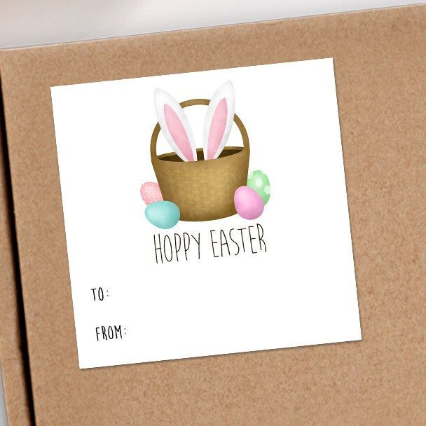 NEW Easter Stickers are perfect for classroom treats, Easter egg hunts or even a special gift from a special bunny!
