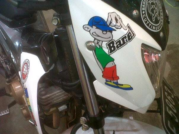 Barel Indo Designer: Satria Fu Cutting Sticker