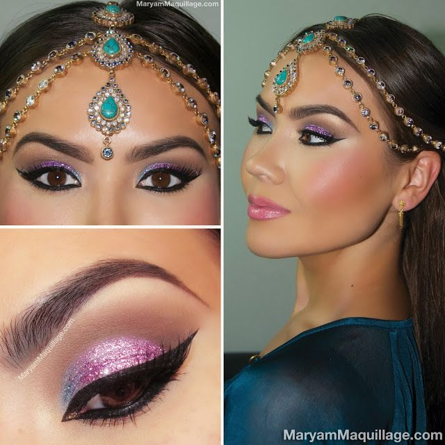 Maryam Maquillage !: Fit for a Queen: Exotic Makeup & Headpiece