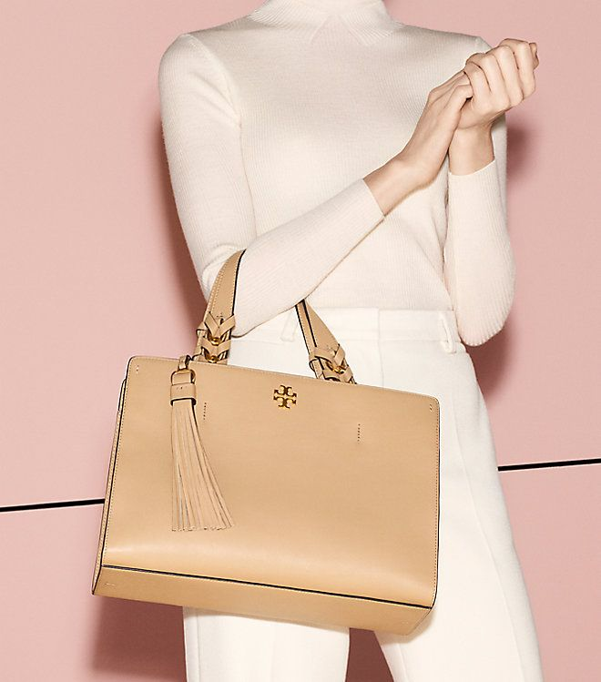 880e8f4870f12 Visit Tory Burch to shop for Brooke Satchel and more Womens The Gift Guide.  Find