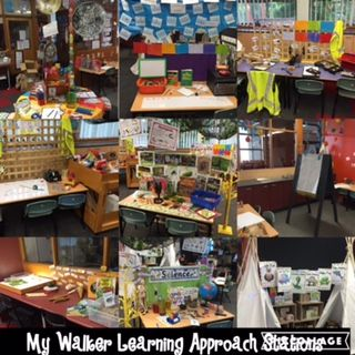 Walker Learning Approach Stations