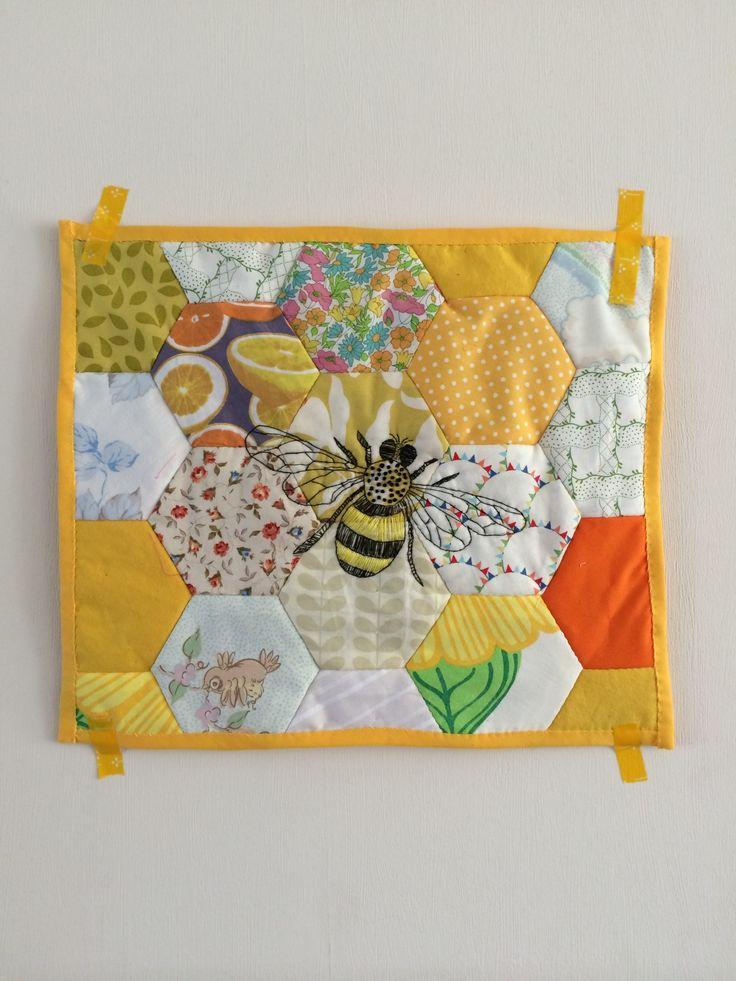 Honeycomb quilt                                                                                                                                                                                 More