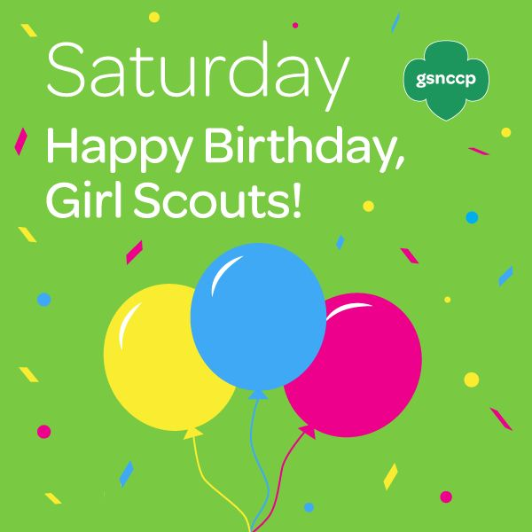 1000+ Images About Happy Birthday Girl Scouts! On