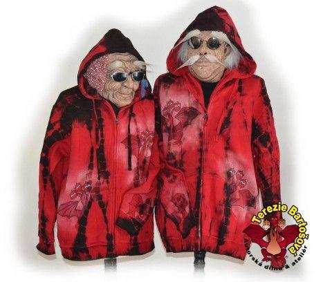 My jsme DRACÍÍÍ od lesa :-) drak dráček mikina dámská draci bunda saň pro muže pro ženy pro parnery www.simira.cz