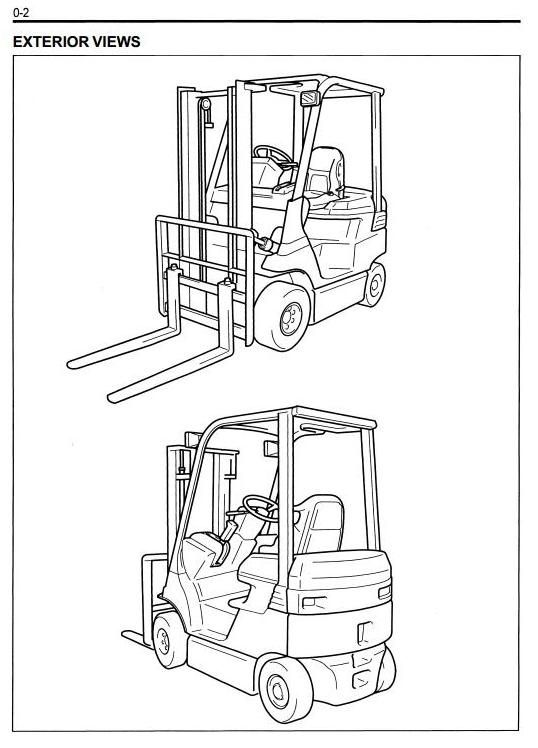 69 best Toyota Retro Forklifts images on Pinterest