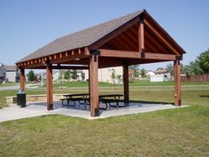Picnic Shelter Designs Plans - WoodWorking Projects & Plans