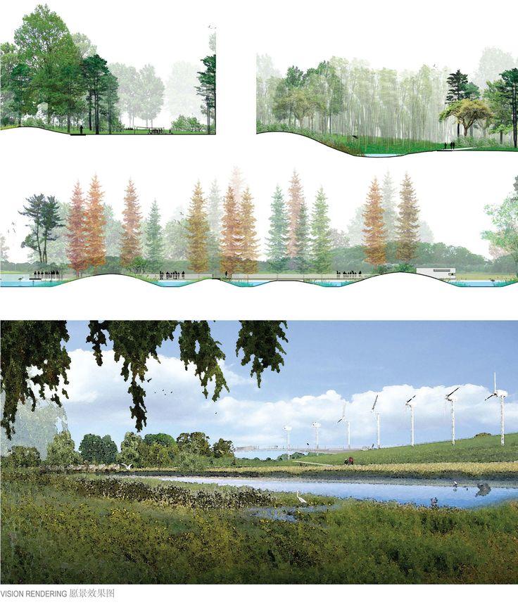 Pingl par julien petiot sur rendu perspective bloc coupe for Perspective jardin 78