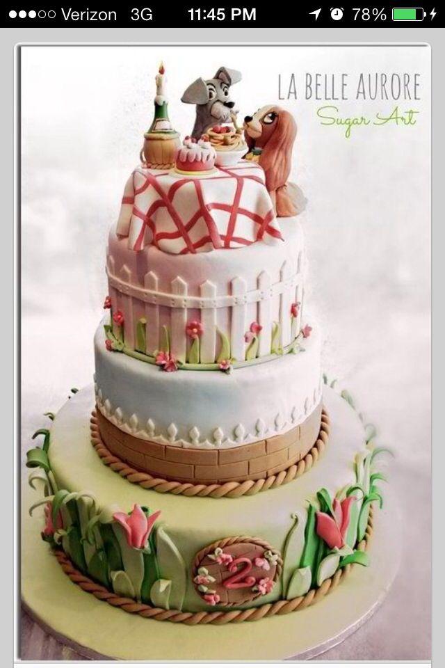 Disneyland Cake Images : 31 best images about Disneyland cakes on Pinterest ...