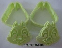 Chip N Dale Cookies / Bread Mould