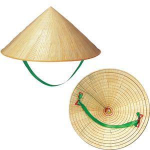 ベトナム ノンラー(笠帽子) - 竹笠(改/三度笠)