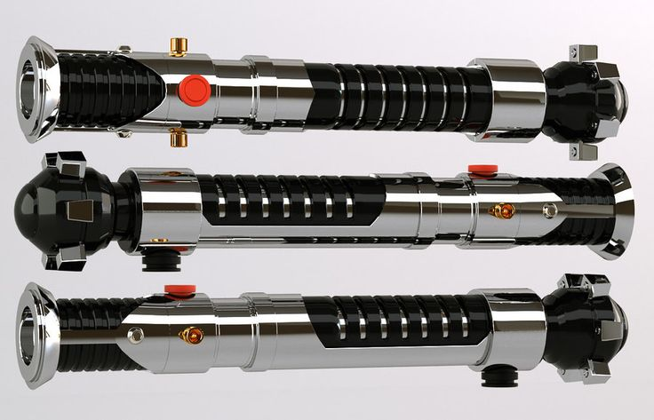 3d - Obi Wan Lightsaber by Araiel.deviantart.com on @deviantART