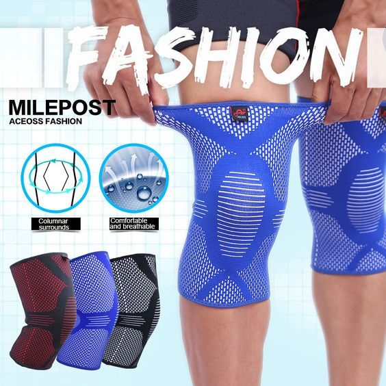 (Flash Sale) Knee Compression Sleeve - 50% Sale on Today + FREE Shipping + 30 Day Money back guarantee