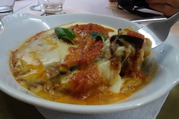 Eggplant parmigiana from Bellagio, Italy restaurant