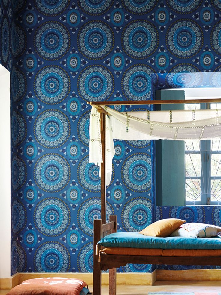 Harlequin Boheme Paste the Wall Wallpaper in 2020 Large