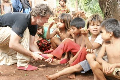 "Why TOMS isn't doing as much good as we think...""The problem isn't shoelessness. The problem is poverty."""