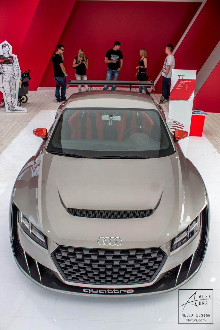 Top View Audi TT Club Sport Turbo