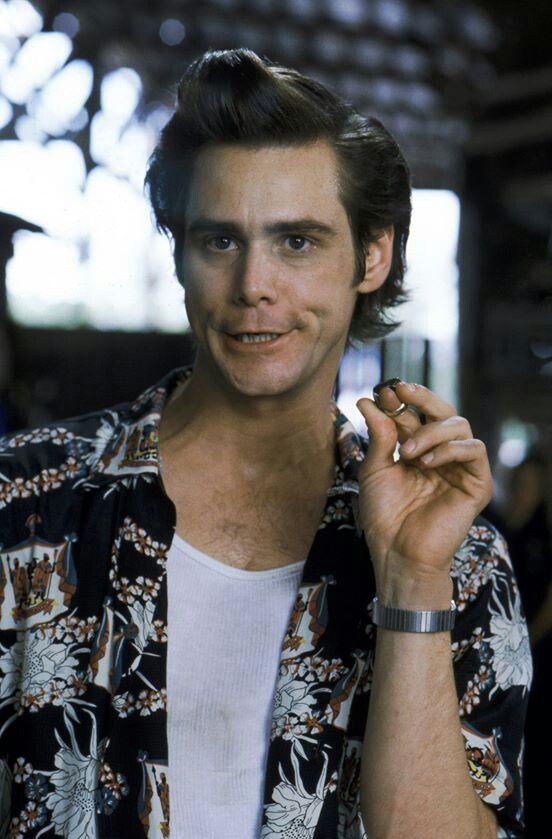 """If I'm not back in five minutes, just wait longer.""...     Ace Ventura: Pet Detective (1994) – Ace Ventura (Jim Carrey)"