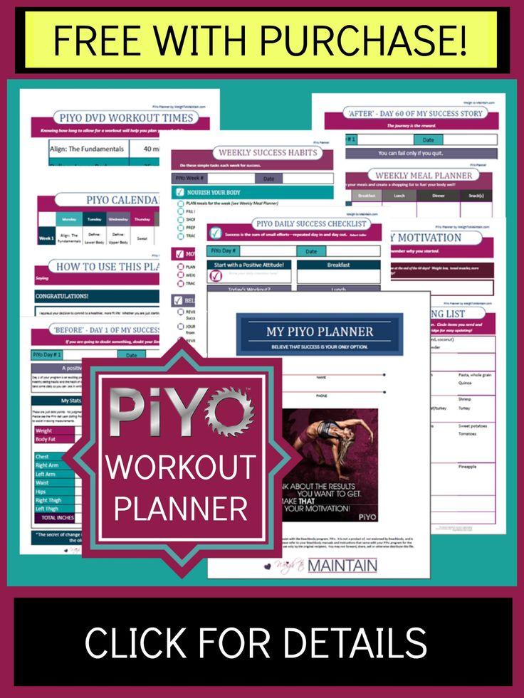 The 25+ best Piyo dvd ideas on Pinterest Piyo workout calendar - beast workout sheet