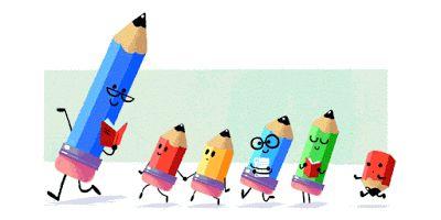 Doodleando, Los Logos de Google: Día del Maestro (México, Corea del Sur)