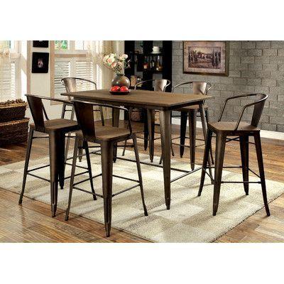 Hokku Designs Barnes Counter Height Dining Table