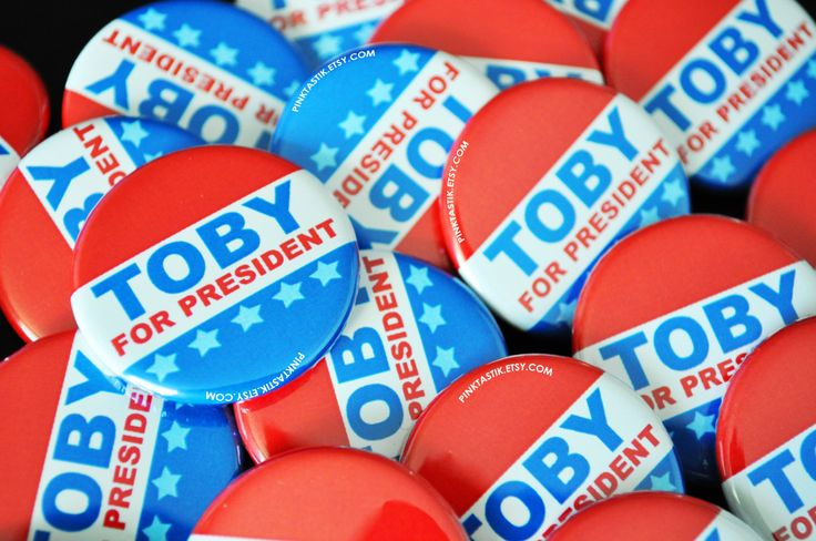 Political Campaign Buttons, Political Party Buttons, Political campaign, Vote for Buttons, President, Fourth of July, President baby shower by PINKTASTIK on Etsy https://www.etsy.com/listing/196020030/political-campaign-buttons-political