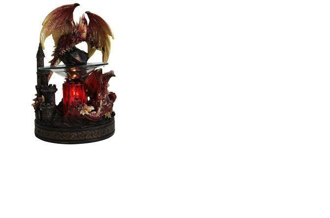 New black dragon scented oil tart polyresin warmer electric fragrance burner pinterest - Dragon oil warmer ...