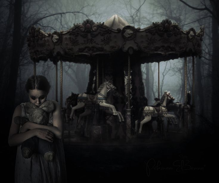 139 Best Ideas About Haunted Carousels~ On Pinterest