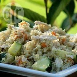 Quinoa salade met kip @ allrecipes.nl