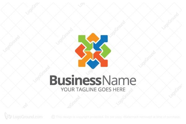 Logo for sale: Business Solutions Logo