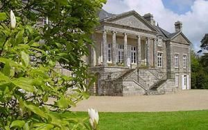 L'Orangerie de Lanniron - France: camping in the grounds of chateau for the summer