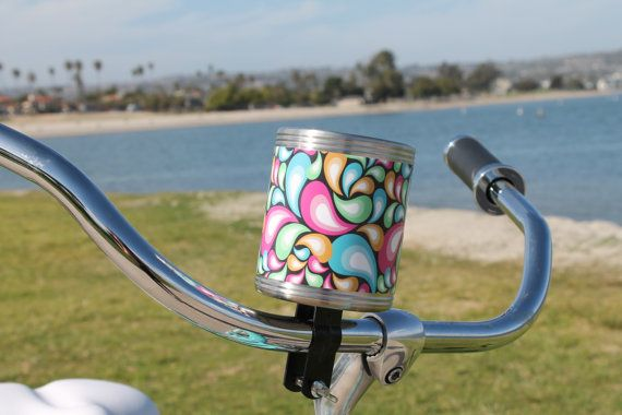 Custom Beach Cruiser Bicycle Stainless Steel by CruiserCupHolders