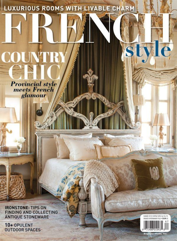 Astounding French Style Magazine Summer 2018 Deco French Cottage Home Interior And Landscaping Palasignezvosmurscom