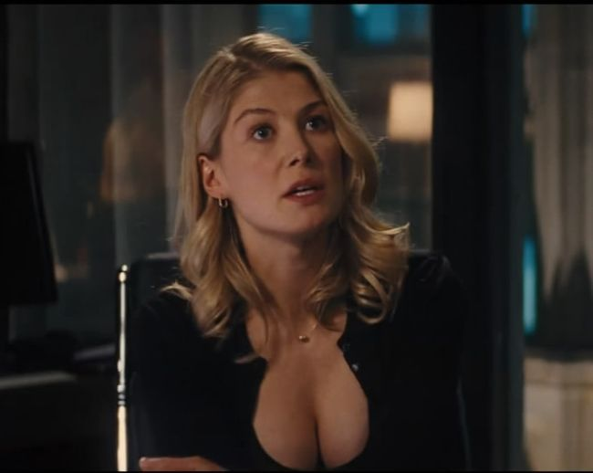 Rosamund Pike from the movie Jack Reacher | Rosemund Pike ...