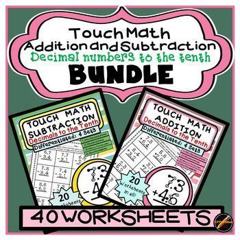 Best 25+ Touch math ideas on Pinterest   Touch point math ...